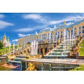 Jigsaw puzzle 1000 pcs - Peterhof Palace in St. Petersburg (by Castorland)