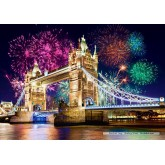 Jigsaw puzzle 500 pcs - Tower Bridge, London (by Castorland)