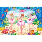 Jigsaw puzzle 40 pcs - Little Ballerinas (by Castorland)
