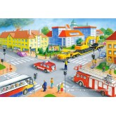 Jigsaw puzzle 40 pcs - Road junction (by Castorland)