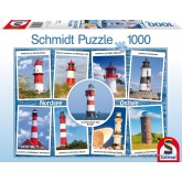 Jigsaw puzzle 1000 pcs - Lighthouses (by Schmidt)