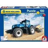 Jigsaw puzzle 100 pcs - New Holland, BigBaler 1290 (by Schmidt)