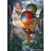 Jigsaw puzzle 500 pcs - Airships - Ciro Marchetti (by Schmidt)