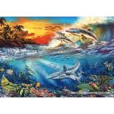 Jigsaw puzzle 500 pcs - Ocean Fantasie (by Schmidt)