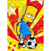 Jigsaw puzzle 500 pcs - Sporty Bart - The Simpsons (by Educa)
