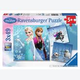 49 pcs - Adventure in the Winter (by Ravensburger)