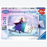 24 pcs - Sisters for Ever  - Disney (by Ravensburger)