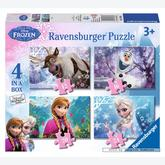 12 pcs - Frozen - Disney (by Ravensburger)