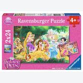 12 pcs - Best Friends of the Princesses - Disney (by Ravensburger)