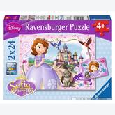 24 pcs - Sofia's Adventures - Disney Sofia the First (by Ravensburger)