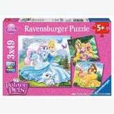 49 pcs - Princess and her Pet - Disney (by Ravensburger)