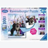 Jigsaw puzzle 100 pcs - The Frozen Differences - Disney (by Ravensburger)