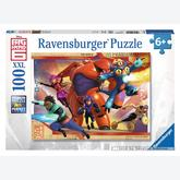 Jigsaw puzzle 100 pcs - Big Hero 6 - XXL (by Ravensburger)