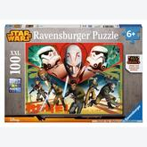100 pcs - Star Wars - Star Wars (by Ravensburger)
