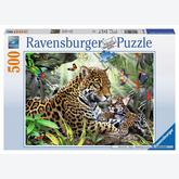 500 pcs - Jaguar (by Ravensburger)
