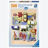 Jigsaw puzzle 500 pcs - Summer in Italy (by Ravensburger)