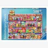 500 pcs - The Sweet Shop (by Ravensburger)