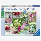 Jigsaw puzzle 1500 pcs - Beautiful Garden (by Ravensburger)