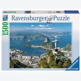 Jigsaw puzzle 1500 pcs - View at Rio (by Ravensburger)