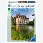 Jigsaw puzzle 1500 pcs - Castle of Azay-le-Rideau, Loire Valley (by Ravensburger)