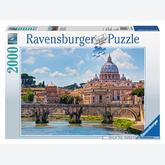 Jigsaw puzzle 2000 pcs - Castel Sant Angelo in Rome (by Ravensburger)