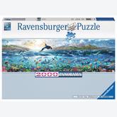 Jigsaw puzzle 2000 pcs - Living Ocean - Panorama (by Ravensburger)