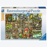 5000 pcs - Bizarre City - Colin Thompson (by Ravensburger)