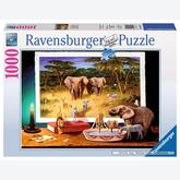 Jigsaw puzzle 1000 pcs - Visitors by Night (by Ravensburger)