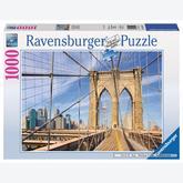 Jigsaw puzzle 1000 pcs - Brooklyn Bridge (by Ravensburger)