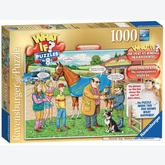 Jigsaw puzzle 1000 pcs - The Racehorse - 5 - What If (by Ravensburger)