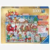 Jigsaw puzzle 1000 pcs - Santa and Rudolph - 9 - What If (by Ravensburger)