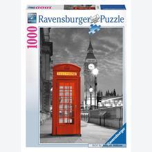 Jigsaw puzzle 1000 pcs - London - Black and White (by Ravensburger)