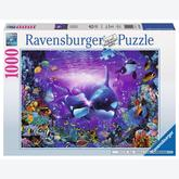 1000 pcs - Beautiful undersea Passage  - Christian Riese Lassen (by Ravensburger)