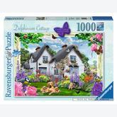 Jigsaw puzzle 1000 pcs - Delphinium Cottage (by Ravensburger)