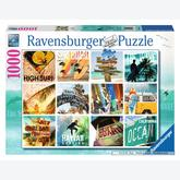 Jigsaw puzzle 1000 pcs - Surfin USA (by Ravensburger)