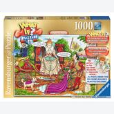 1000 pcs - Elizabeth and Raleigh - What If (by Ravensburger)