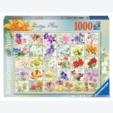 Jigsaw puzzle 1000 pcs - Vintage Flora (by Ravensburger)