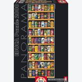 Jigsaw puzzle 2000 pcs - Soft Cans - Vertical (by Educa)