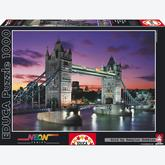 Jigsaw puzzle 1000 pcs - Tower Bridge, London - Neon (by Educa)