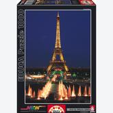 1000 pcs - Eiffel Tower, Paris - Neon (by Educa)