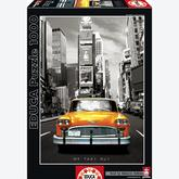 1000 pcs - Taxi No 1 - New York - Black and White (by Educa)
