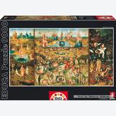 9000 pcs - The Garden of Earthly Delights - Bosch (by Educa)