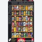 Jigsaw puzzle 1000 pcs - Soft Cans - Miniature (by Educa)