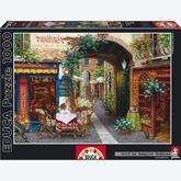 Jigsaw puzzle 1000 pcs - Trattoria Tre Marchetti - Viktor Shvaiko (by Educa)