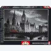 1000 pcs - London Bus - Black and White (by Educa)