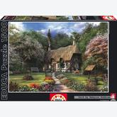 1500 pcs - Rose cottage, D.Davison - Genuine (by Educa)