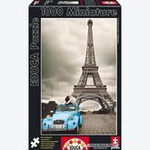 Jigsaw puzzle 1000 pcs - Eiffel Tower, Paris - Miniature (by Educa)
