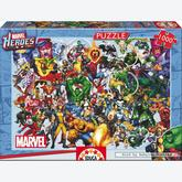 1000 pcs - Marvel Heroes - Marvel (by Educa)