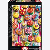 Jigsaw puzzle 500 pcs - Colorful Cupcakes (by Educa)