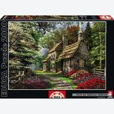 Jigsaw puzzle 2000 pcs - Carnation Cottage - Genuine (by Educa)